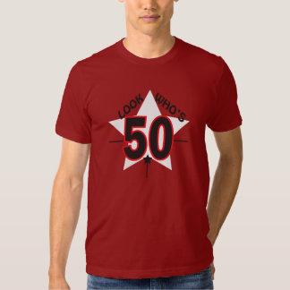 Mire quién es 50 años cumpleaños del | del 50.o camisas