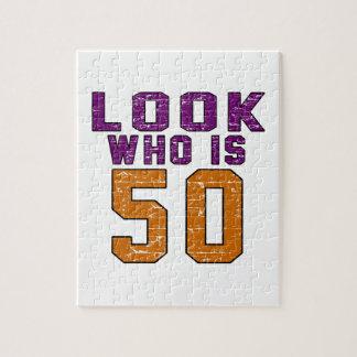 Mire quién es 50 puzzle con fotos