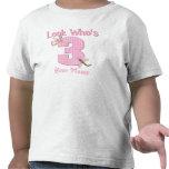 Mire quién es camiseta rosada de la libélula 3