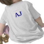 Mire quién es nombre de 2 personalizados camisetas