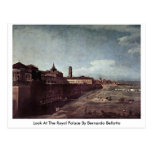 Mire Royal Palace de Bernardo Bellotto Tarjeta Postal