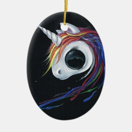 ¡Mire! ¡Una mula uno-de cuernos fea! Adorno Para Reyes