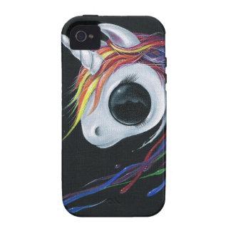 ¡Mire! ¡Una una mula de cuernos fea! Case-Mate iPhone 4 Carcasa