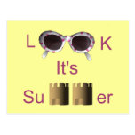 Mírelo es verano tarjeta postal