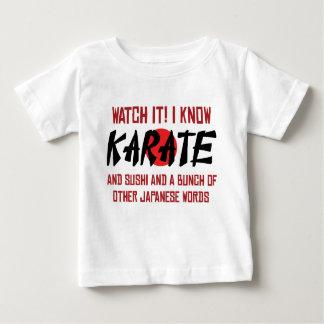 Mírelo que sé karate polera