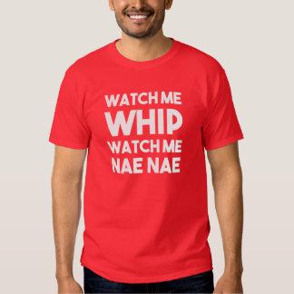 Míreme azotar me miran camisa divertida del Nae