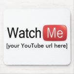 Míreme en YouTube (básico) Alfombrilla De Ratón