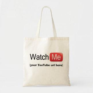 Míreme en YouTube (básico) Bolsa Tela Barata
