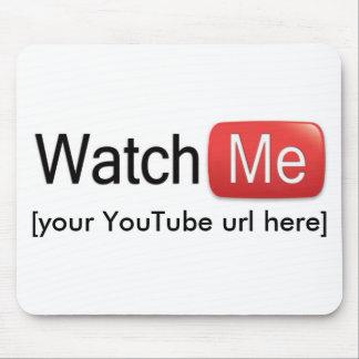 Míreme en YouTube (básico) Tapete De Ratones