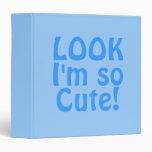 Míreme son tan lindo. Azul. Lema
