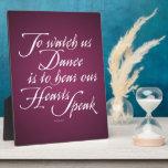 Mírenos bailar placas con foto