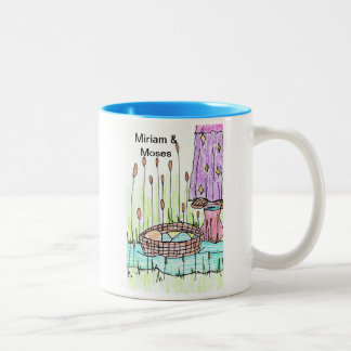 Miriam & Moses in the Nile River Mug