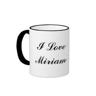 Miriam Ringer Mug
