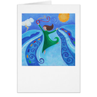 Miriam's Song Greeting Card