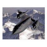 Mirlo de Lockheed SR-71 - postal