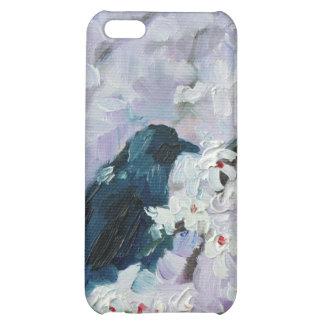 """""""Mirlo en floraciones"""" para el hardcase del iPhone"""