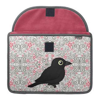 Mirlo oxidado de Birdorable Funda Macbook Pro