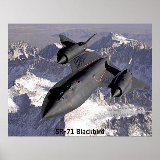Mirlo SR-71 Póster
