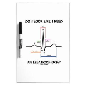 ¿Miro como necesito un Electroshock EKG ECG Pizarras