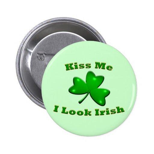 Miro el botón irlandés pins
