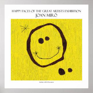 "miro happy face poster 11""x11"""