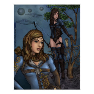 Mirra the Ranger Poster