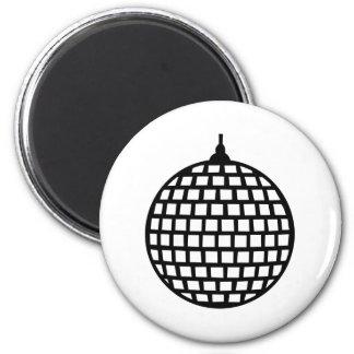 Mirror ball 2 inch round magnet