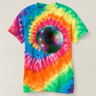 Mirror Ball Disco Tie Dye Shirt