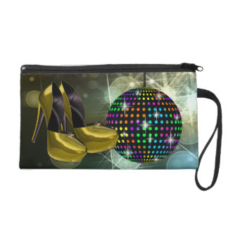 Mirror Ball Disco Wristlet