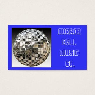 Mirror Ball Music Business Card
