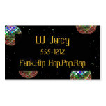 Mirror Ball Party New Year Business Cards