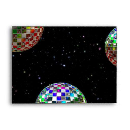Mirror Ball Party New Year Envelopes