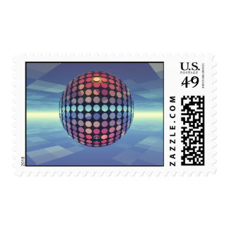 Mirror Ball Stamps