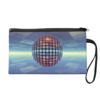 Mirror Ball Wristlet Purse