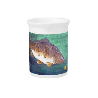 Mirror carp drink pitcher