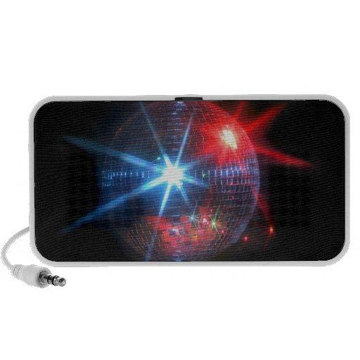 mirror disco ball with laser lights mini speaker