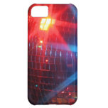 Mirror disco rotating ball with laser lights iPhone 5C case
