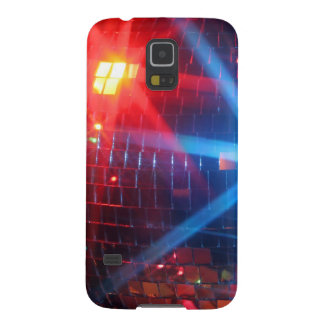 Mirror disco rotating ball with laser lights galaxy s5 cover