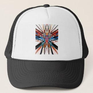 Mirror Image Abstract Trucker Hat