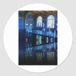 Mirror Image Hearst Castle Indoor Pool Classic Round Sticker