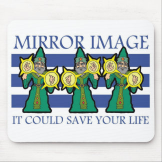 Mirror Image Mouse Pad