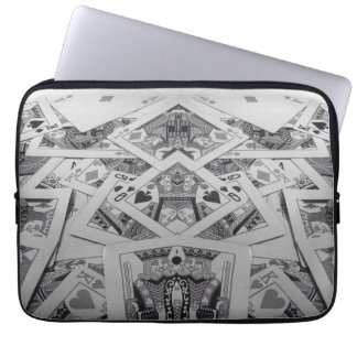 Mirror Image Playing Cards Computer Sleeves