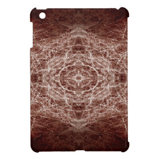 Mirror image tree pattern cover for the iPad mini