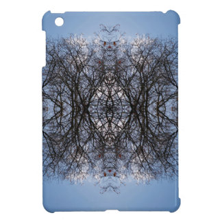 Mirror image trees cover for the iPad mini
