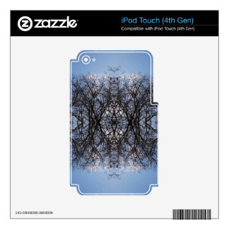 Mirror image trees skin for iPod touch 4G