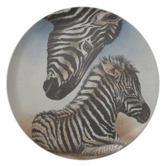 Mirror Image (zebra) Accessories Dinner Plate