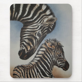 Mirror Image (zebra) Accessories Mouse Pad