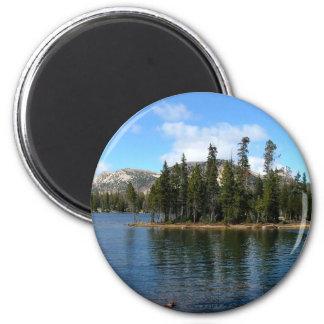 Mirror Lake 2 Inch Round Magnet