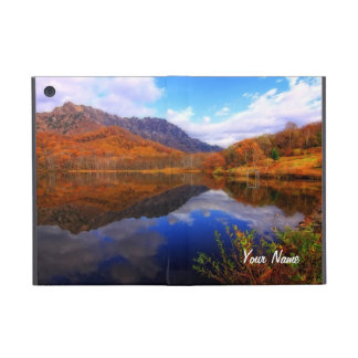 Mirror Lake Autumn Landscape Reflection Water Fall Cases For iPad Mini