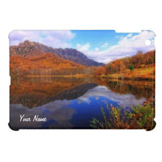 Mirror Lake Autumn Landscape Reflection Water Fall iPad Mini Cases